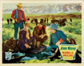 "Movie Posters:Western, King of the Pecos (Republic, 1936). Lobby Card (11"" X 14"")...."
