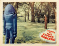 "Movie Posters:Science Fiction, Earth vs. the Flying Saucers (Columbia, 1956). Lobby Cards (4) (11""X 14"").... (Total: 4 Item)"