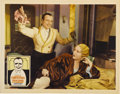 "Movie Posters:Comedy, Reaching for the Moon (United Artists, 1930). Lobby Card (11"" X14"")...."