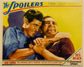 """Movie Posters:Western, The Spoilers (Paramount, 1930). Lobby Card (11"""" X 14"""")...."""