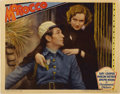 "Movie Posters:Romance, Morocco (Paramount, 1930). Lobby Card (11"" X 14"")...."