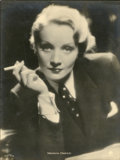 "Movie Posters:Miscellaneous, Marlene Dietrich Publicity Still (Paramount, 1930s). German Still(7"" X 9.5"")...."
