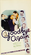 "Movie Posters:Comedy, Goodbye Again (First National, 1933). Midget Window Card (8"" X14"")...."