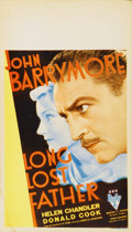 "Movie Posters:Comedy, Long Lost Father (RKO, 1934). Midget Window Card (8"" X 14"")...."