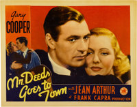 """Mr. Deeds Goes to Town (Columbia, 1936). Lobby Card (11"""" X 14"""")"""