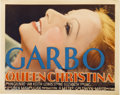 "Movie Posters:Drama, Queen Christina (MGM, 1933). Title Lobby Card (11"" X 14"")...."