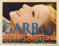 """Queen Christina (MGM, 1933). Title Lobby Card (11"""" X 14"""")"""