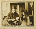 """Movie Posters:Western, The Gun Fighter (Triangle, 1917). Lobby Cards (3) (11"""" X 14"""").... (Total: 3 Items)"""