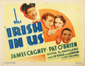 "Movie Posters:Comedy, The Irish in Us (First National, 1935). Title Lobby Card (11"" X14"")...."