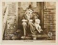 "Movie Posters:Comedy, A Dog's Life (First National, 1918). Lobby Card (11"" X 14"")...."