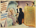 "Movie Posters:Comedy, Design for Living (Paramount, 1933). Lobby Card (11"" X 14"")...."