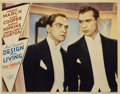 """Movie Posters:Comedy, Design for Living (Paramount, 1933). Lobby Card (11"""" X 14"""")...."""