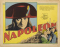 "Movie Posters:War, Napoleon (MGM, 1927). Title Lobby Card (11"" X 14"")...."