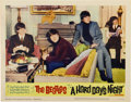"Movie Posters:Rock and Roll, A Hard Day's Night (United Artists, 1964). Lobby Cards (4) (11"" X14"").... (Total: 4 Items)"