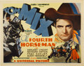 "Movie Posters:Western, The Fourth Horseman (Universal, 1932). Title Lobby Card (11"" X 14"")...."