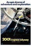 "Movie Posters:Science Fiction, 2001: A Space Odyssey (MGM, 1968). One Sheet (27"" X 41"") StyleA...."