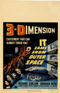 """Movie Posters:Science Fiction, It Came from Outer Space (Universal International, 1953). WindowCard (14"""" X 22"""")...."""