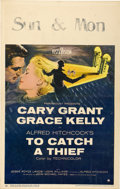 """Movie Posters:Hitchcock, To Catch a Thief (Paramount, 1955). Window Card (14"""" X 22"""")...."""