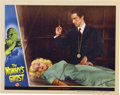 "Movie Posters:Horror, The Mummy's Ghost (Universal, 1944). Lobby Cards (2) (11"" X14"").... (Total: 2 Items)"