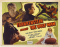 "Movie Posters:Horror, Frankenstein Meets the Wolf Man (Realart, R-1949). Title Lobby Card(11"" X 14"")...."