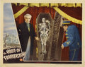"""Movie Posters:Horror, House of Frankenstein (Universal, 1944). Lobby Cards (2) (11"""" X14"""").... (Total: 2 Items)"""