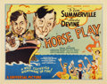"Movie Posters:Comedy, Horse Play (Universal, 1933). Title Lobby Card (11"" X 14"")...."
