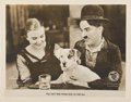 """Movie Posters:Comedy, A Dog's Life (First National, 1918). Lobby Card (11"""" X 14"""")...."""
