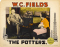 """Movie Posters:Comedy, The Potters (Paramount, 1927). Lobby Card (11"""" X 14"""")...."""