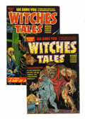 Golden Age (1938-1955):Horror, Witches Tales #14 and 22 File Copy Group (Harvey, 1952-53)Condition: Average FN.... (Total: 2 Comic Books)