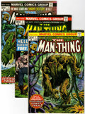 Bronze Age (1970-1979):Horror, Man-Thing and Related Titles Group (Marvel, 1974-81) Condition:Average VF.... (Total: 38 Comic Books)