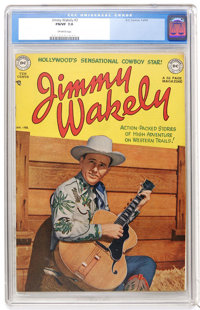 Jimmy Wakely #3 (DC, 1950) CGC FN/VF 7.0 Off-white pages