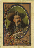 Western Expansion:Cowboy, Pawnee Bills Wild West and Great Far East Program 1904. ...