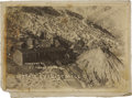 Western Expansion:Goldrush, Photograph Windfall Cyanide Mill, Eureka, Nevada, 1912. . ...