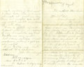 Western Expansion:Cowboy, 1881 New Mexico Territory Letter With Indian Content....