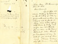Western Expansion:Cowboy, 1882 Autograph Letter Concerning the Shipment of a Horse in NewMexico Territory....