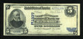 Error Notes:Foldovers, Baltimore, MD - $5 1902 Date Back Fr. 590 The Farmers &Merchants NB Ch. # (E)1337. ...