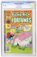 Modern Age (1980-Present):Humor, Richie Rich Fortunes #56 File Copy (Harvey, 1981) CGC NM+ 9.6Off-white to white pages....
