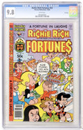 Modern Age (1980-Present):Humor, Richie Rich Fortunes #53 File Copy (Harvey, 1980) CGC NM/MT 9.8White pages....