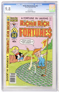 Modern Age (1980-Present):Humor, Richie Rich Fortunes #52 File Copy (Harvey, 1980) CGC NM/MT 9.8White pages....