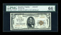 National Bank Notes:Virginia, Quantico, VA - $5 1929 Ty. 2 The First NB Ch. # 12477. ...
