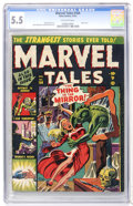 Golden Age (1938-1955):Horror, Marvel Tales #104 (Atlas, 1951) CGC FN- 5.5 Off-white pages....