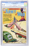 Silver Age (1956-1969):War, Our Army at War #128 (DC, 1963) CGC VF+ 8.5 Off-white to white pages....