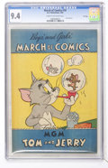 Golden Age (1938-1955):Cartoon Character, March of Comics #70 Tom and Jerry - File Copy (K. K. Publications,Inc., 1951) CGC NM 9.4 Cream to off-white pages....
