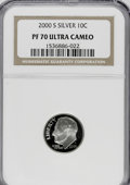 Proof Roosevelt Dimes: , 2000-S 10C Silver PR70 Ultra Cameo NGC. NGC Census: (690/0). PCGSPopulation (97/0). Numismedia Wsl. Price for NGC/PCGS co...