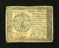 Colonial Notes:Continental Congress Issues, Continental Currency September 26, 1778 $40 Extremely Fine-AboutNew....