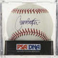 Autographs:Baseballs, Carlos Beltran Single Signed Baseball, PSA Mint 9. Carlos Beltranhas been regarded as one of the most diversely-talented pl...