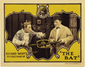 "Movie Posters:Mystery, The Bat (United Artists, 1926). Lobby Card (11"" X 14"")...."