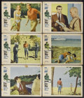 """Movie Posters:James Bond, Dr. No (United Artists, 1962). Lobby Cards (6) (11"""" X 14""""). JamesBond.... (Total: 6 Items)"""
