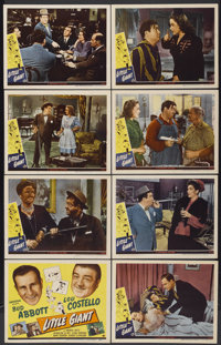 "Little Giant (Universal, 1946). Lobby Card Set of 8 (11"" X 14""). Comedy.... (Total: 8 Items)"
