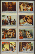 "Movie Posters:Drama, Bayou (United Artists, 1957). Lobby Card Set of 8 (11"" X 14""). Drama.... (Total: 8 Items)"